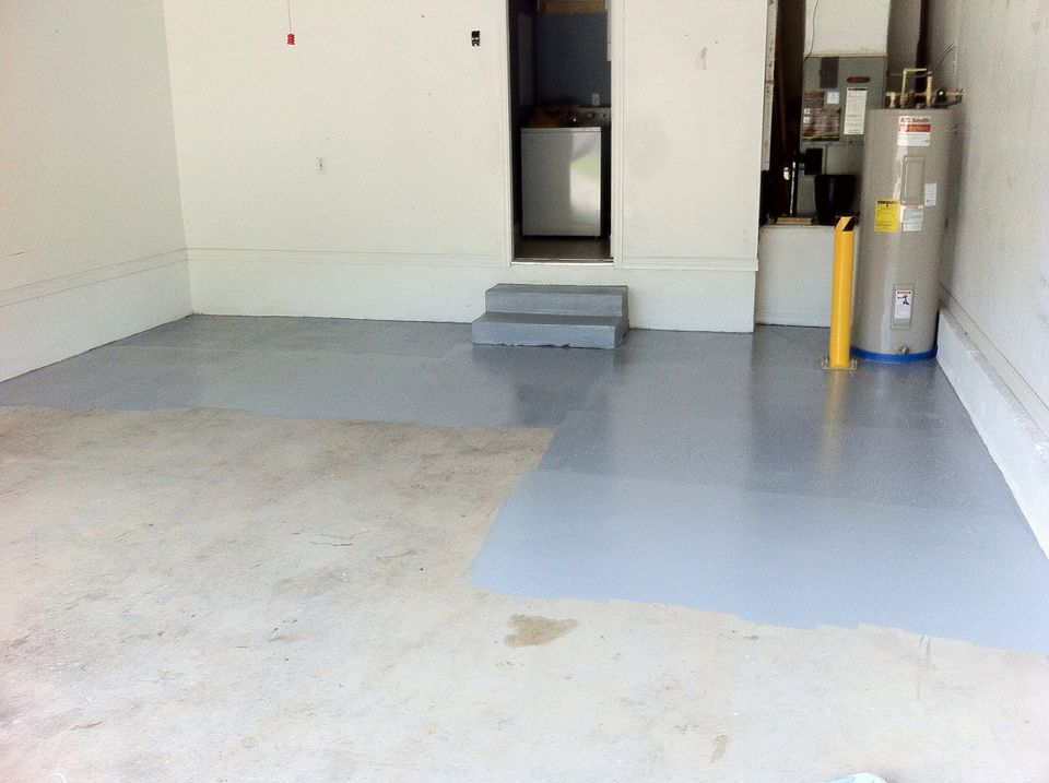 How to apply garage floor epoxy like a pro for Best product to clean garage floor