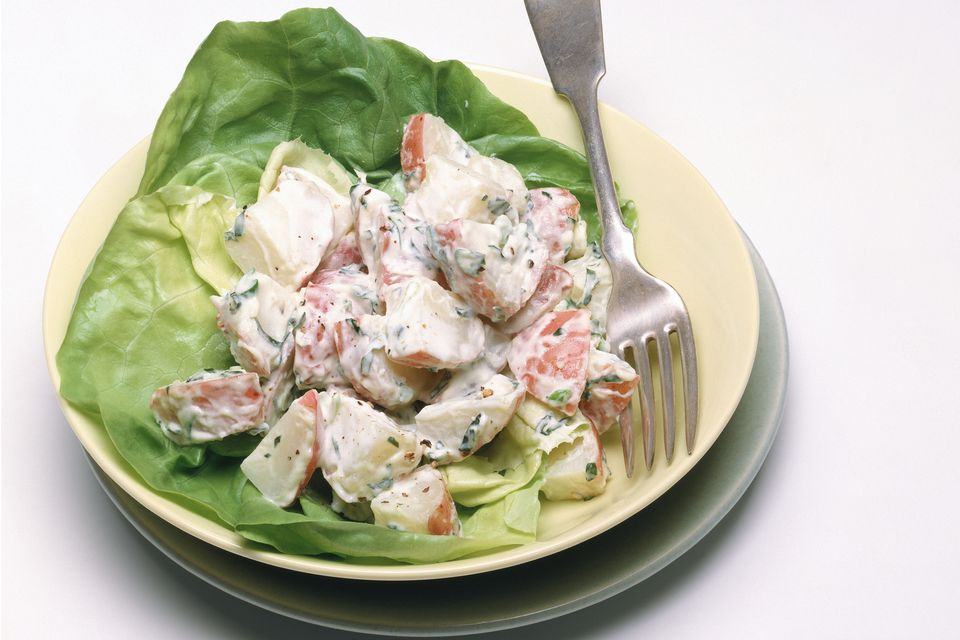 Red Potato Salad Recipe With Mayonnaise Dressing
