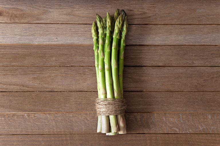Asparagus in twine.