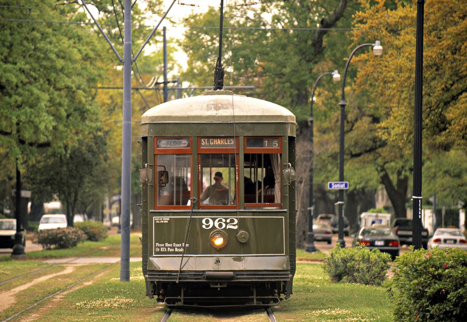 Tram New Orleans Louisiana USA