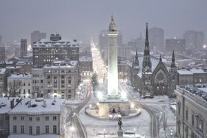 Washington Monument, Mount Vernon Place, Baltimore