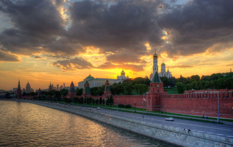 Moscow and the Moskva River