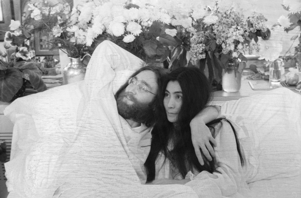 Image result for john and yoko bed