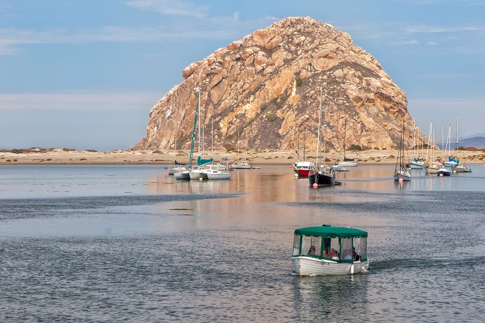 Boating in Morro Bay