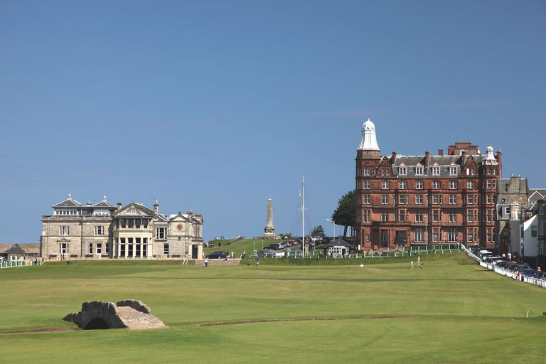 Old Course at St. Andrews Hole is most frequent host site among British Open golf courses
