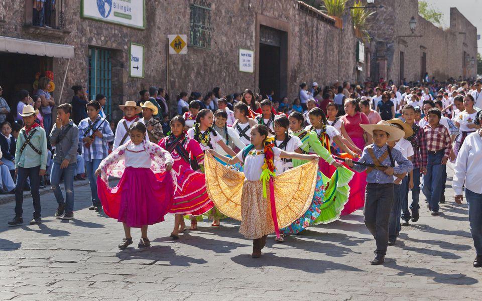 Revolution Day November 20th San Miguel de Allende, Mexico
