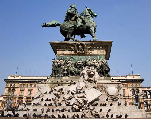 statue, piazza duomo, milan, picture, milan picture