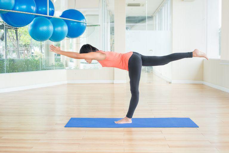 Yoga Warrior III