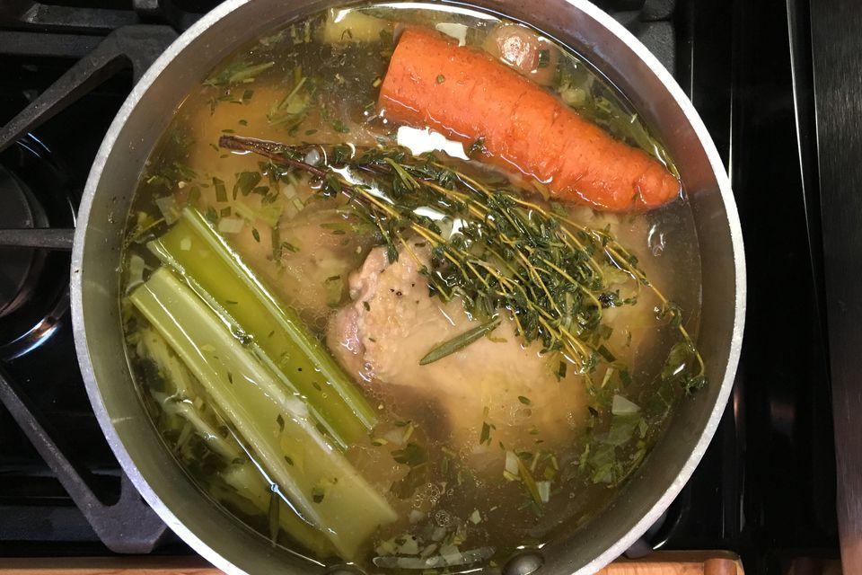 Easy turkey stock recipe