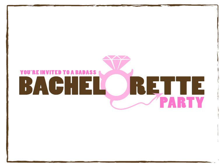 9 Free Printable Bachelorette Party Invitations – Bachelor Party Email Invite