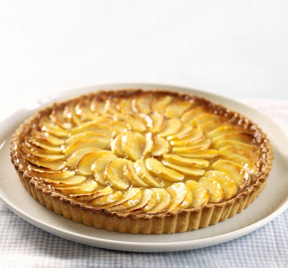 A French apple tart