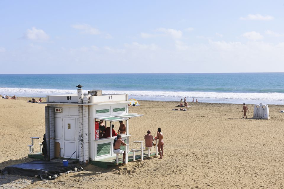 Europe nude beach