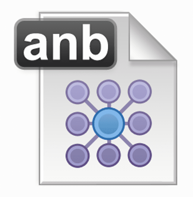 Screenshot of the ANB file icon
