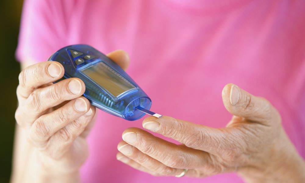 Diabetes can cause high cholesterol.