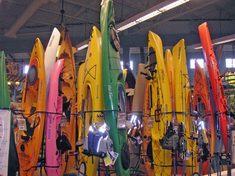 Kayaks in Outdoor World