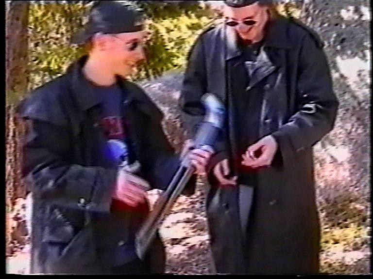 The two perpetrators of the Columbine High School Massacre