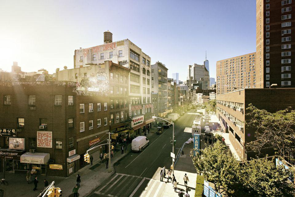 Chinatown in Lower Manhattan