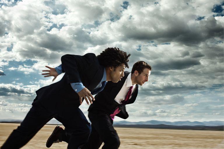 Business Race in the Desert