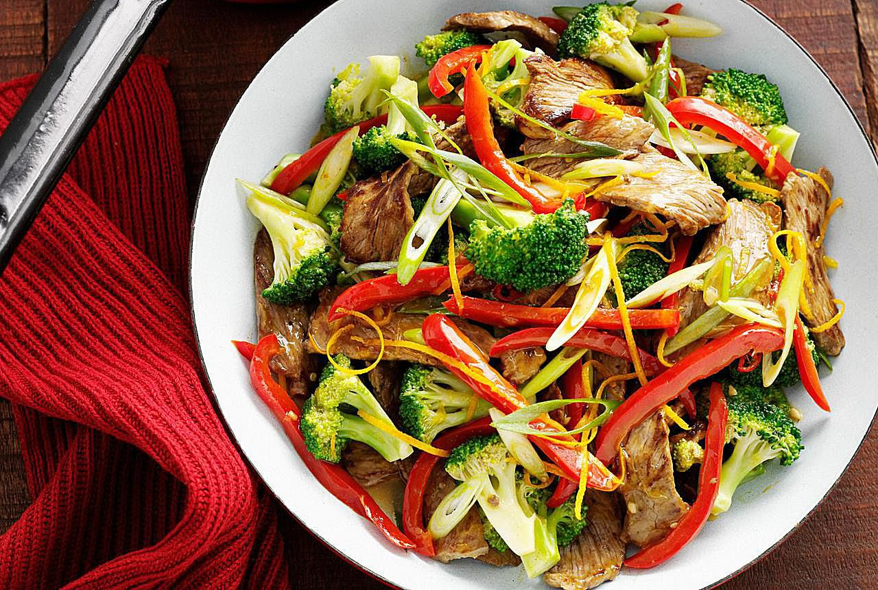 Thai Beef And Broccoli Stir-Fry Recipe-9454