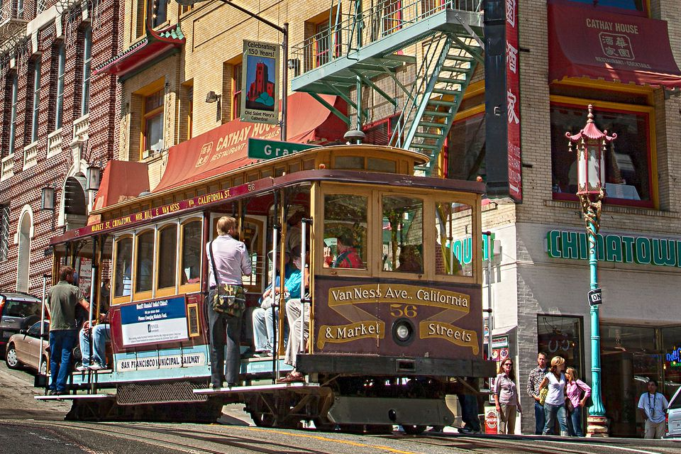 Riding a Cable Car is One of the Things to Do in San Francisco