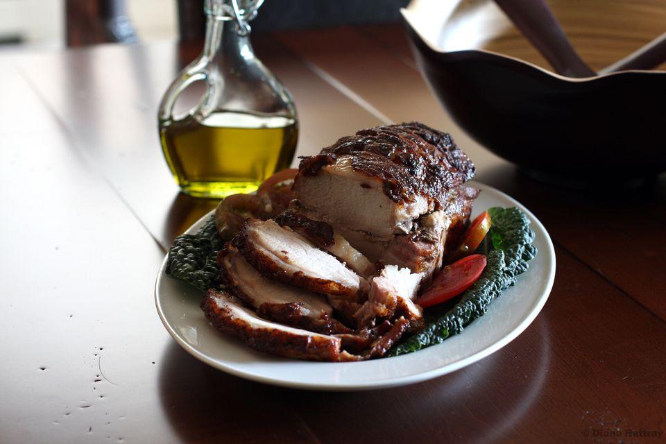 Glazed Pork Loin Roast