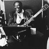 Blues guitar great B.B. King