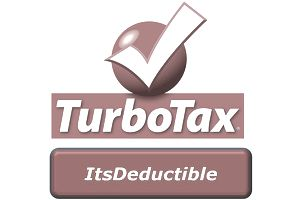 TurboTax: It's Deductible logo