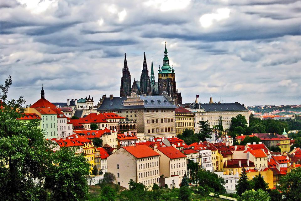 Prague Castle and City in Summer