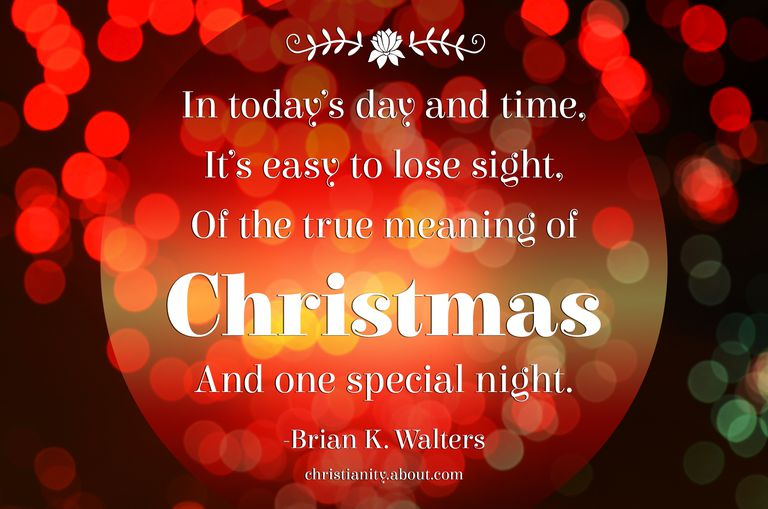 The True Meaning of Christmas - Poems About Jesus