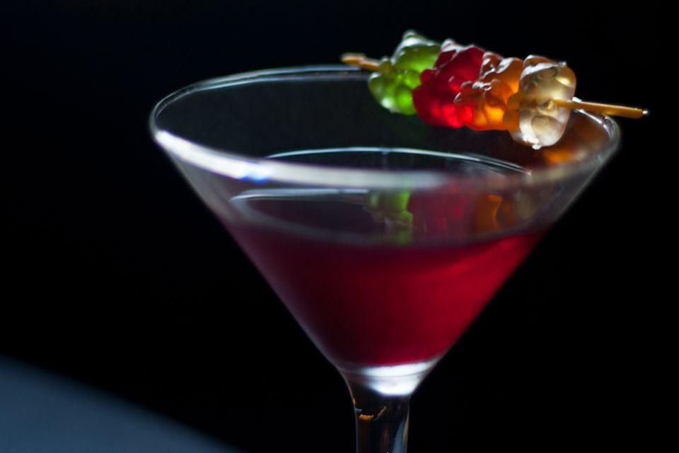 Colleen Graham's Easy Gummy Bear Martini - Vodka Cocktail Recipe