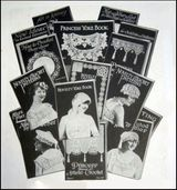 These Vintage Crochet Pattern Books Were Published by Novelty Art Studios Prior to 1915.