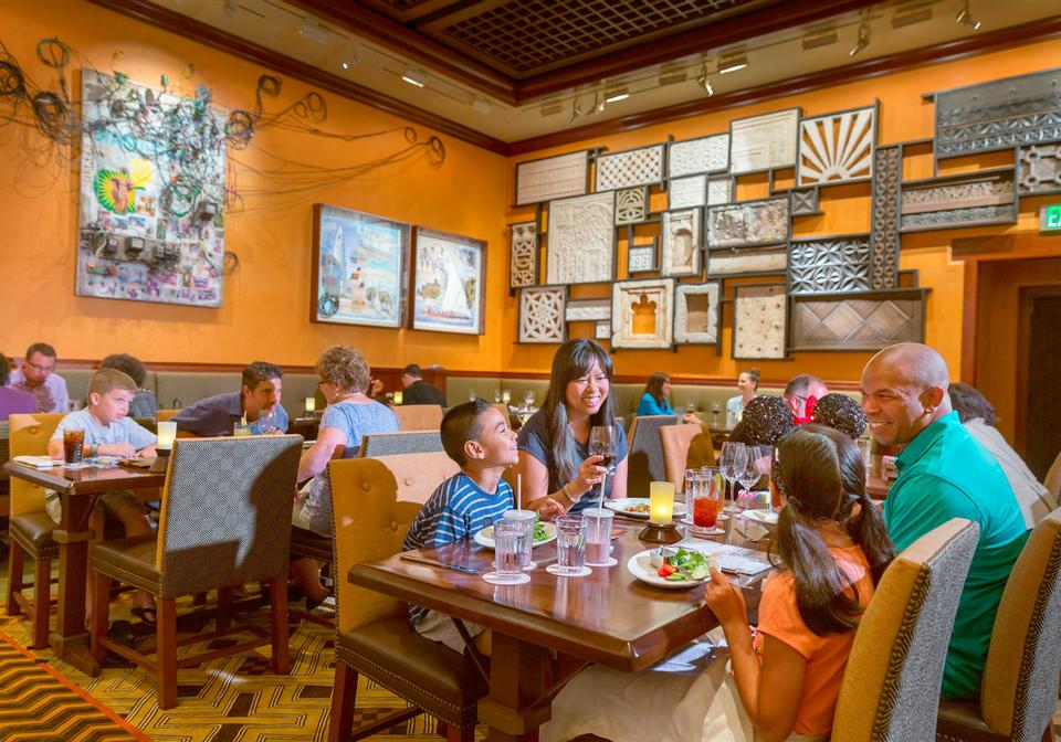 Dining at Disney World