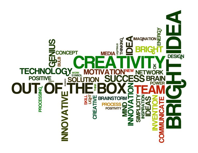 inspiring word cloud - Action Berbs