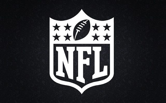 NFL black and white logo