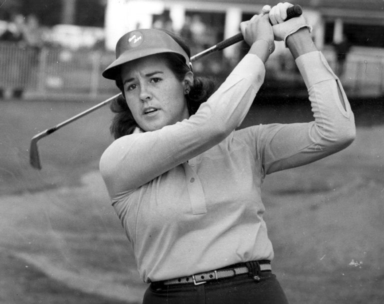 Nancy Lopez in her rookie pro season of 1978.