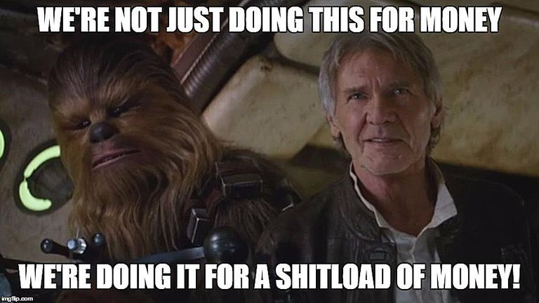 Funny Memes For The Office : The force is strong in these funny star wars memes