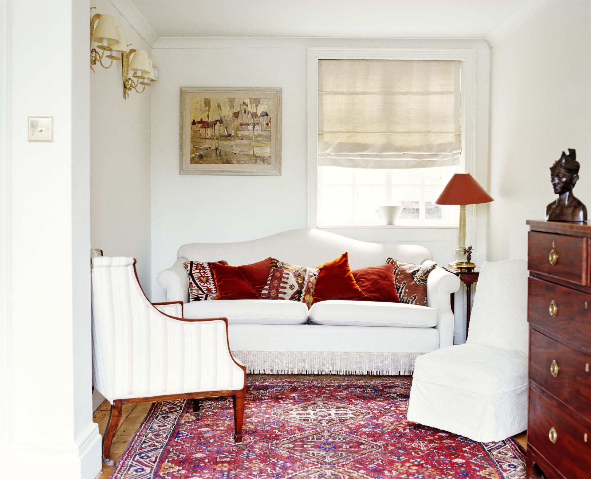 Everything you need to know about area rugs - Living room area rugs ...