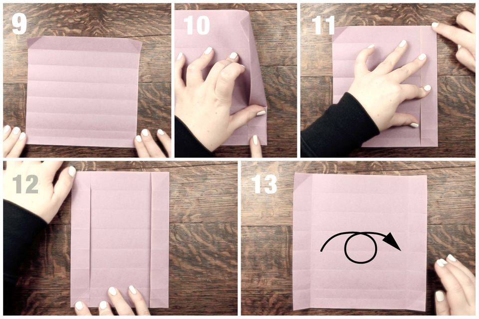 how to make an origami pencil box
