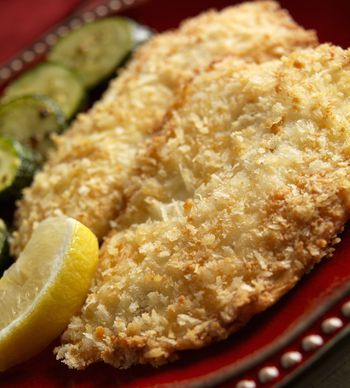 Easy Baked Tilapia With Crumb Topping Recipe