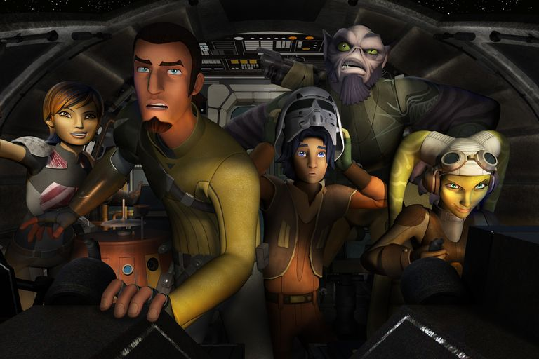 'Star Wars Rebels' Crew