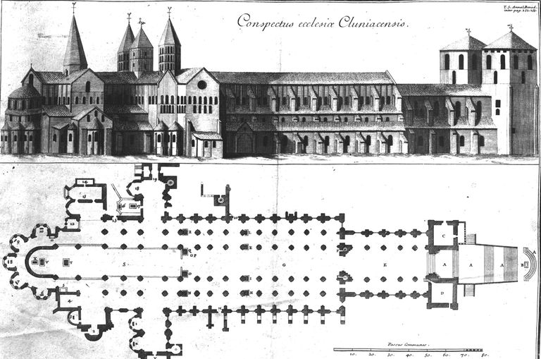 Elevation Church Plan A Visit : Romanesque architecture what ideas made medieval art