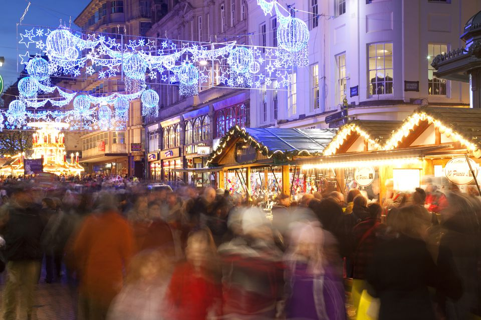 German Christmas Market Takes Over Birmingham
