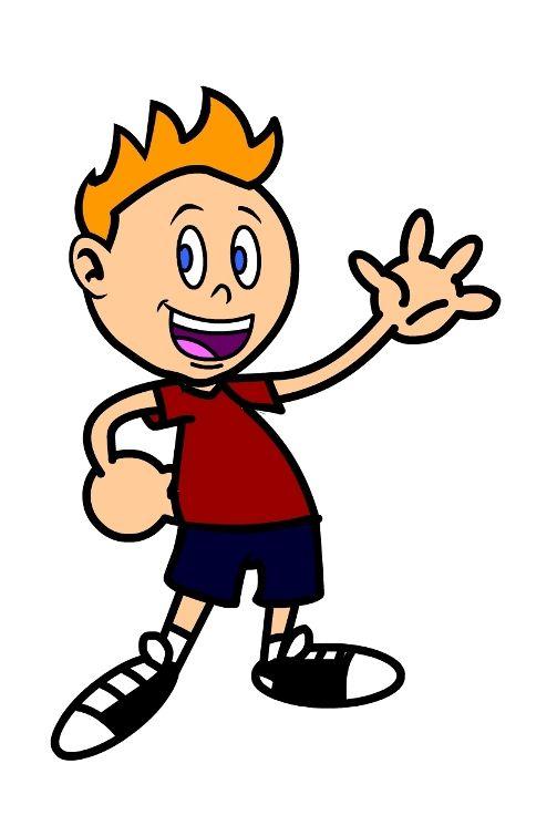 draw a cute cartoon character
