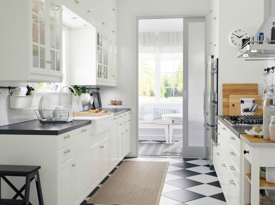 Ikea Sektion White Kitchens