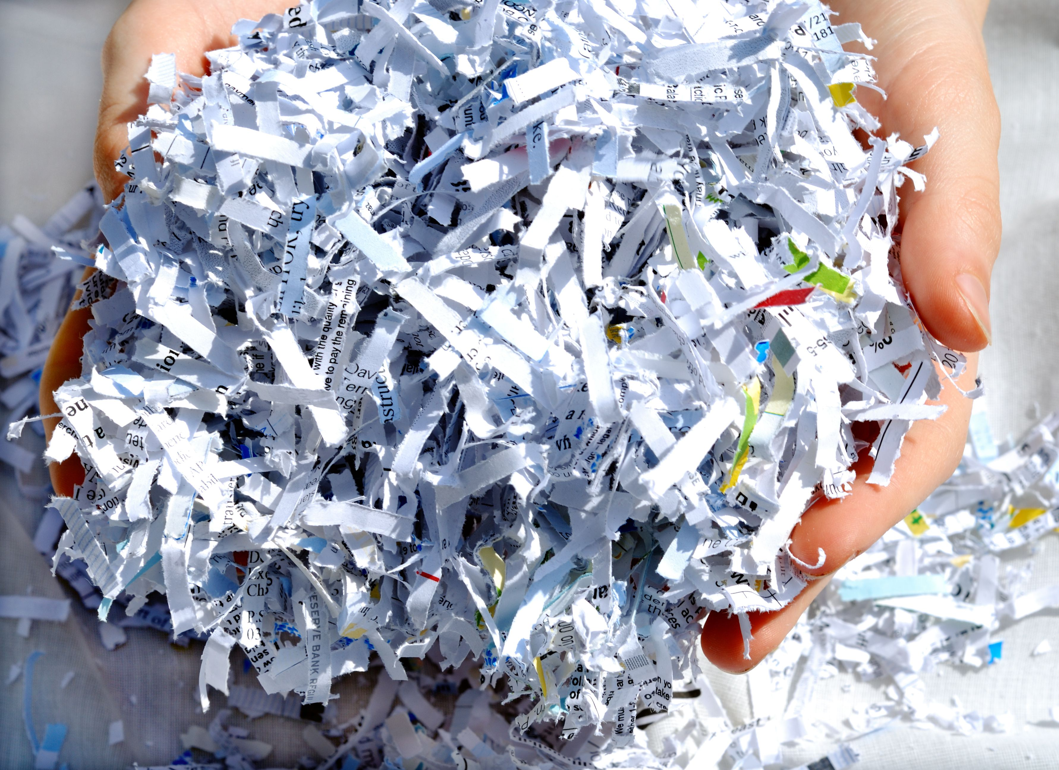 paper shredding business Here are some reasons to shred your important business documents:  shift to  storing data electronically, there are still many businesses that store paper files.