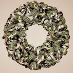 Ribbon Wreath Craft