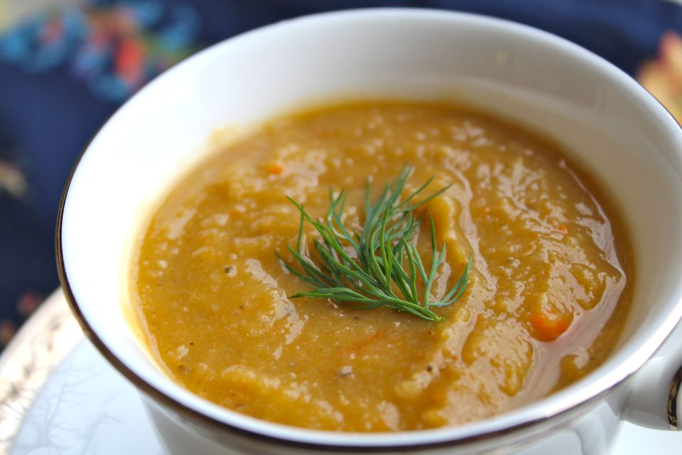 Sweet Potato Lentil Soup