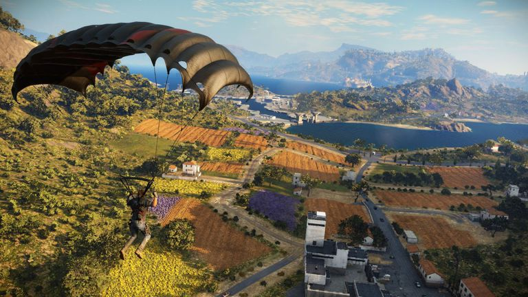 Just Cause 3 screen
