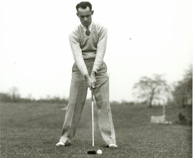 1933 Open Championship winner Denny Shute