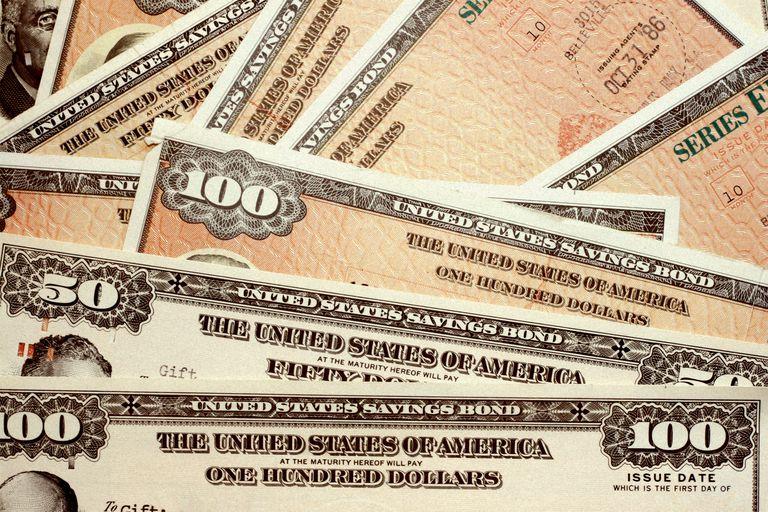United States savings bonds of varying amounts